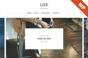 Life - WordPress Theme