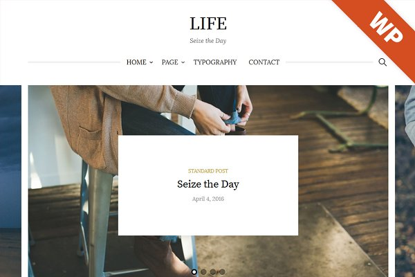 Life - WordPress Theme
