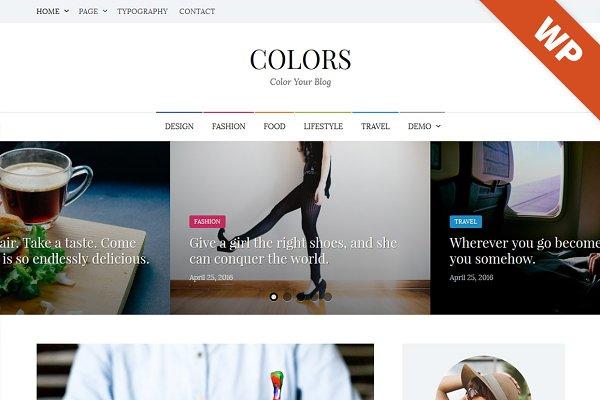 Colors - WordPress Theme