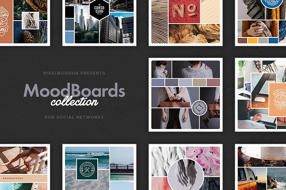 Mood Boards Collection ~ Instagram Templates ~ Creative Market