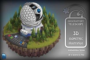 Isometric Observatory Telescope