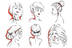 6 woman haircuts