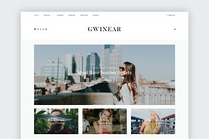 Gwinear - A Stunning WP blog theme