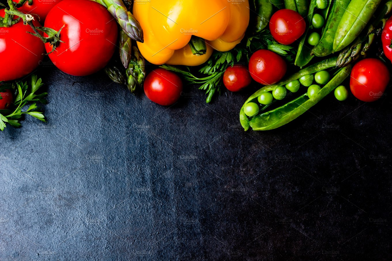 Healthy Food Abstract