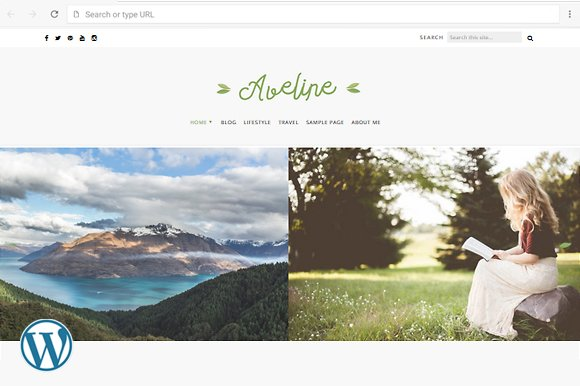Aveline Blog Theme