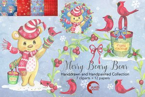 Merry Beary Bear Collection, 1489