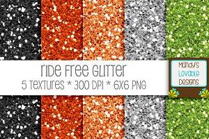 Ride Free Glitter Texture