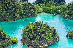 Pianemo Islands, Raja Ampat