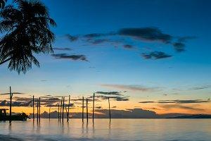 Sunset on Kri Island, Raja Ampat