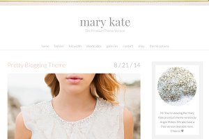 Mary Kate - Feminine WordPress Theme