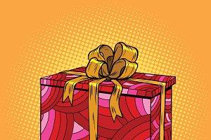 Red festive box
