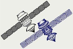 Satellite SVG
