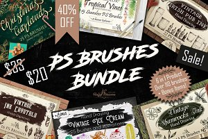 Sale! PS Brushes Bundle