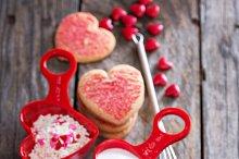 Valentine baking concept