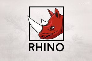 Rhino Animal Logo