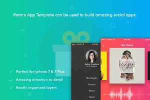 Ramro app template iOS