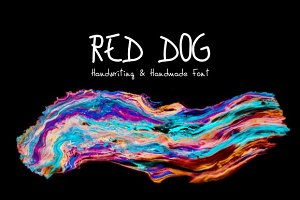 Red Dog Handwriting Font