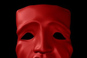 Tragedy Theater Mask