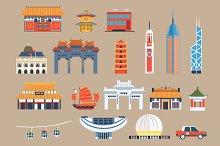 Hong Kong travel elements