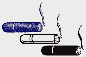 Havana cigar SVG