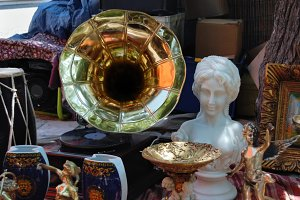 Vintage Gramophone Antique Objects