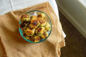 Zucchini Vegetarian Meatballs