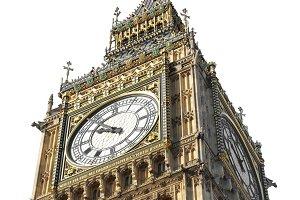 Big Ben in London PNG