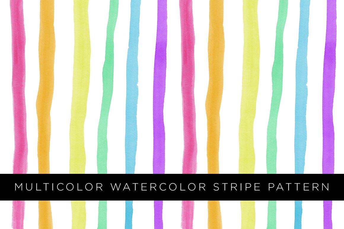 Multicolor Watercolor ...