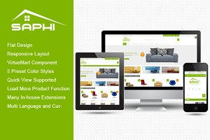 SJ Saphi - Furniture Joomla Theme