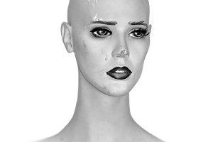 Weathered Doll Head