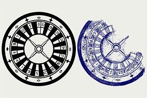 Roulette SVG