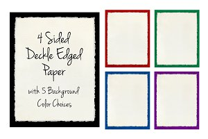 Deckled Edge Paper