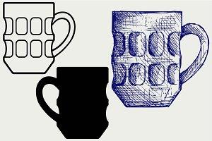 Mug beer SVG