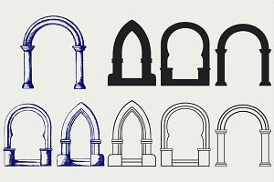 Classic arch SVG