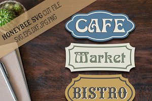 Bistro Cafe Market Bundle