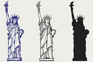 Statue of Liberty SVG