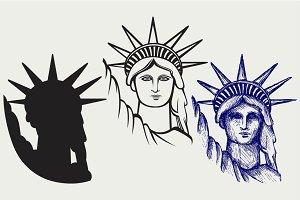 Statue of Liberty SVG
