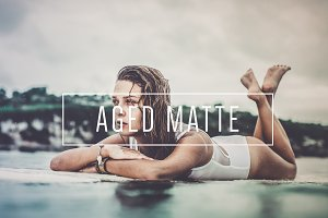 Aged Matte LR Preset [Indie Muse]