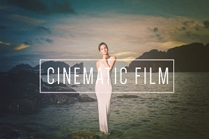 Cinematic Film LR Preset |Indie Muse