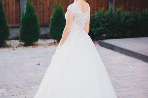 Portrait pretty bride