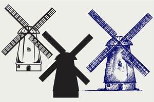 Symbol mill SVG