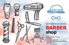 BarberShop Sketch Set