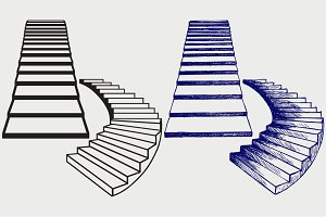 Staircase SVG