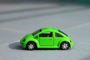 Volkswagen beetle model toy