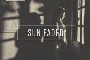 Sun Faded BW Lightroom Preset |Indie