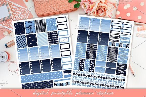Planner Printable Stickers Illustrations Creative Market