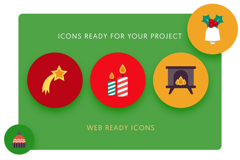 50 Christmas Icons Vol.3 in Christmas Icons - product preview 1