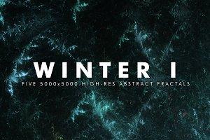 Winter I - Fractal Background Art
