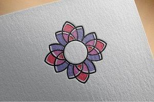 Beautiful Flower Decorative Art