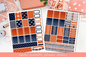 Planner printable stickers